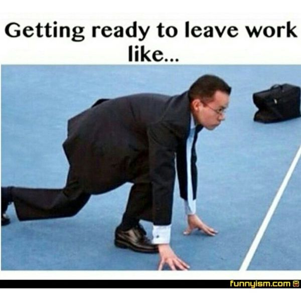 Jolly Ready to Leave Work Meme