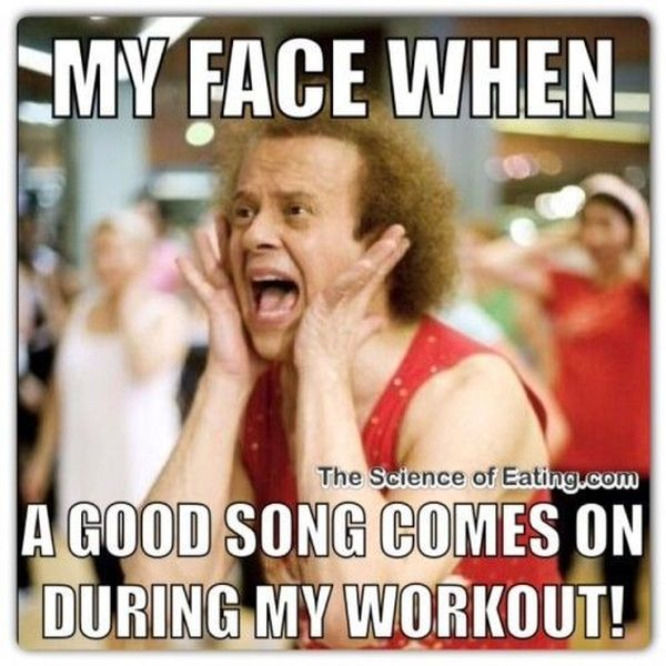 Saturday Workout Meme1