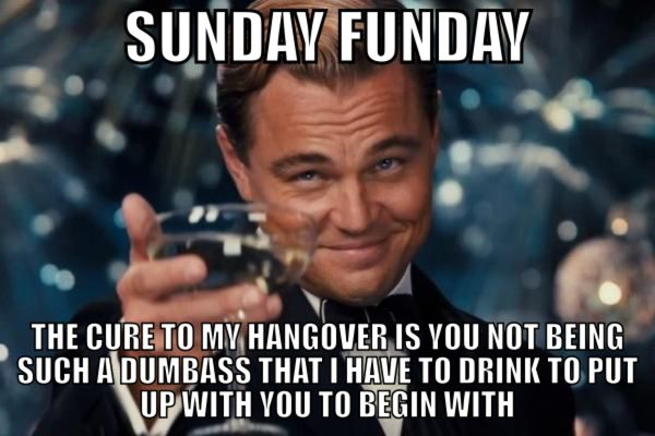 Showy Sunday Funday Meme