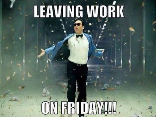 Leaving Work On Friday Meme Funny : Leaving work on friday meme and funny pictures