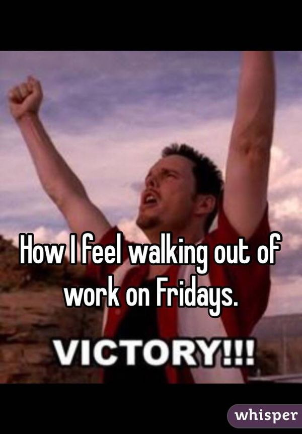 Remarkable Walking Out of Work On Friday