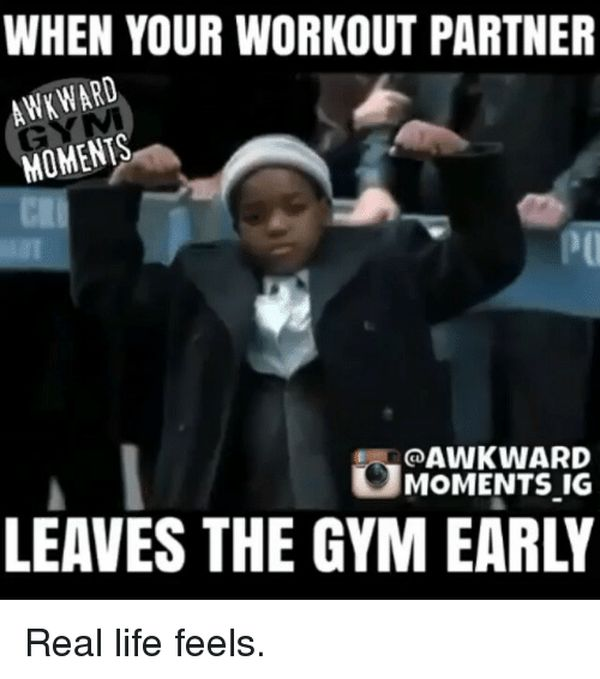 Workout Partner Meme