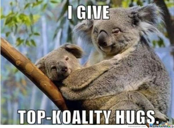 Unbelievable funny hug images