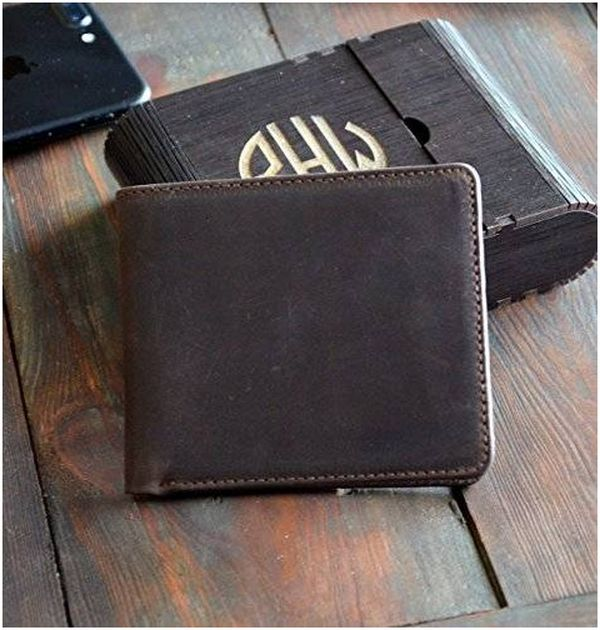 Mens Leather Pocket