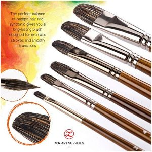 Filbert Paint Brushes