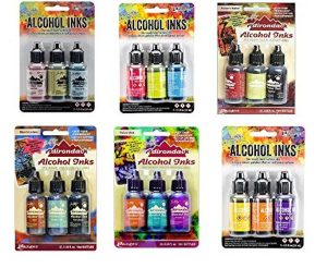 Alcohol Inks Set Collection