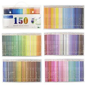 Set of 150 Watercolor Pencils