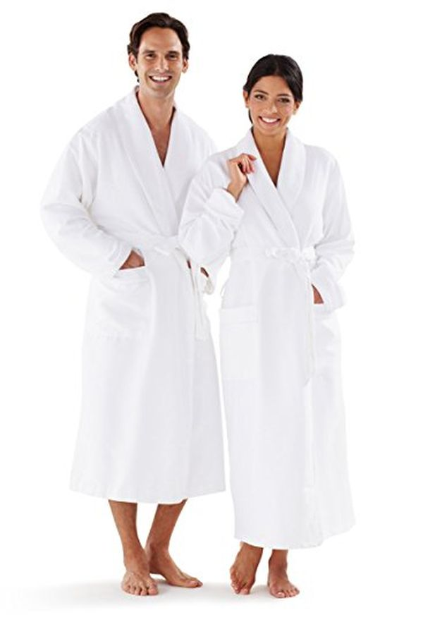 Boca Terry Womens and Mens Robe