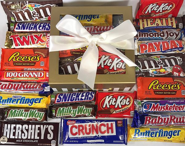 Candy Bar Gift Box