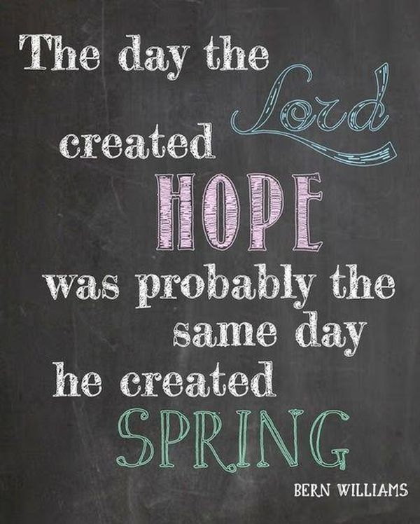 Great Welcome Spring Quotes