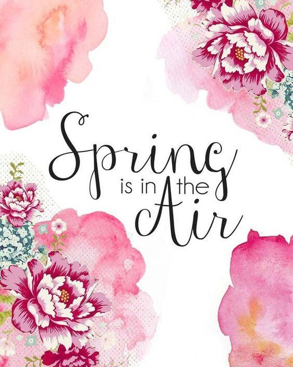 Spring Quotes, Inspirational And Funny Sayings About Spring