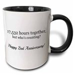 17532 Hours Together Ceramic Mug