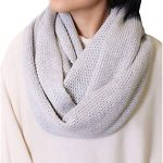 Organic Cotton Knit Scarf