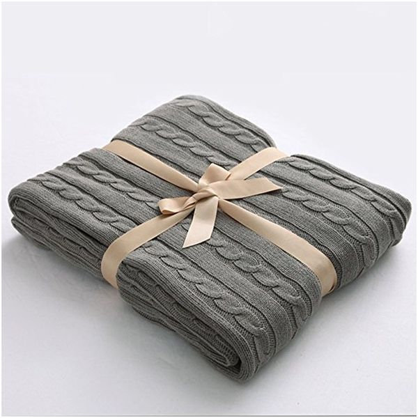 Super Soft Cotton Throw Blanket