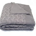Soft 100% Cotton Throw Blanket