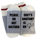 Women's Funny Grey's Anatomy Socks
