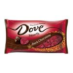 DOVE PROMISES Dark Chocolate Candy Hearts