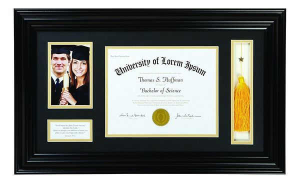 Faithworks Heartfelt Graduation Keepsake Frame