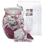 Glass KindNotes Keepsake Gift Jar of Messages