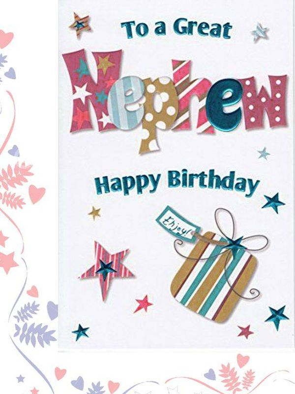 Happy Birthday Nephew Bday Wishes And Quotes For