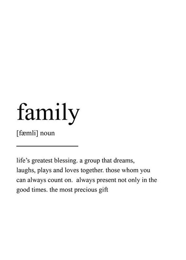 Impressively Strong Family Sayings 3