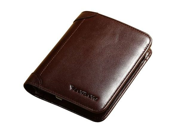Italian Genuine Cowhide Leather Wallet
