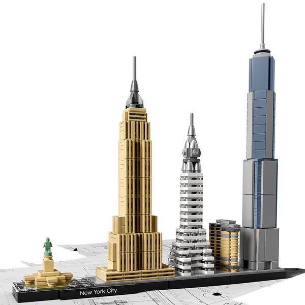LEGO Architecture New York City 21028 Skyline Collection