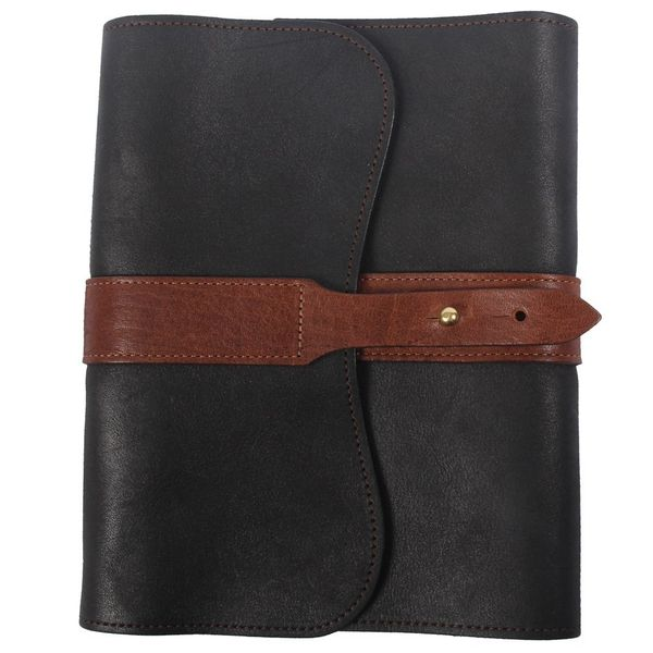 Leather Refillable Writing Notebook