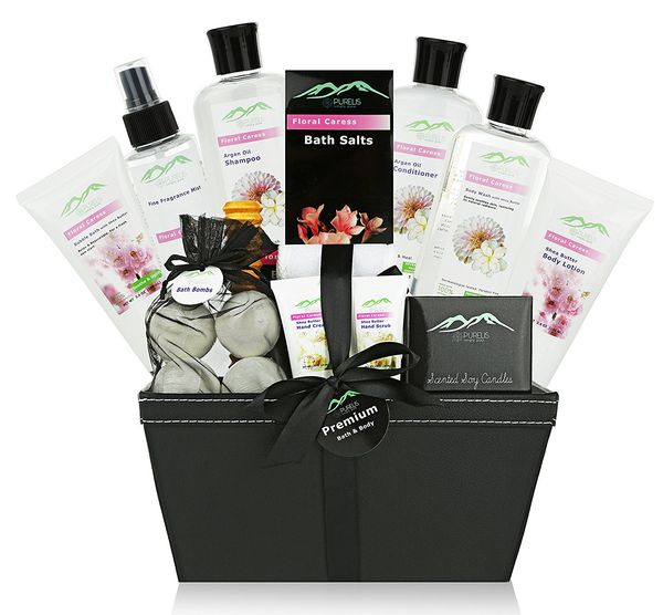 Premium Deluxe Bath Body Gift Basket