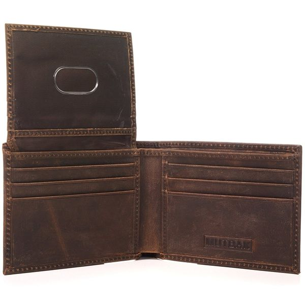 RFID Blocking Full Leather Citadel Wallet