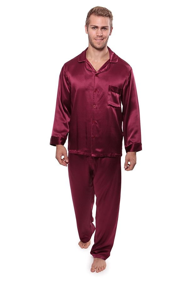 Silk Pajama Set by Milaroma