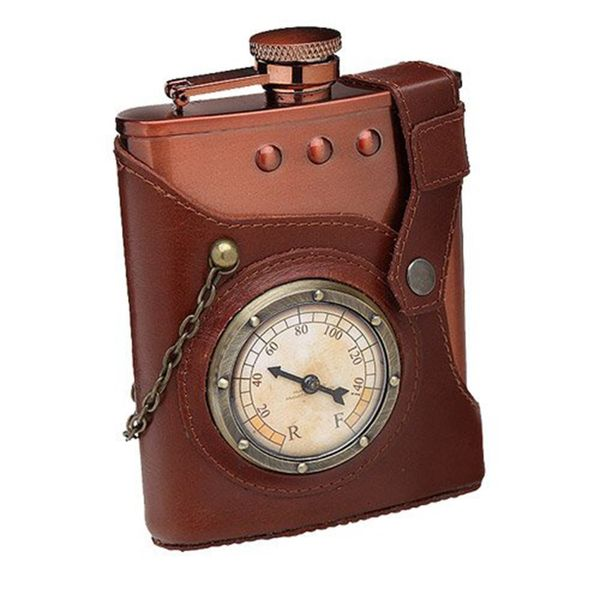 ThinkGeek Captain Jules Everlasting Steampunk Flask