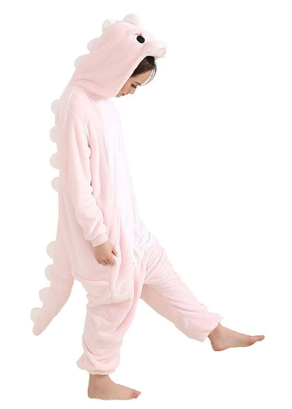 Aoibox Adult Dinosaur Plush One Piece Pajamas