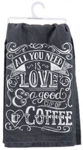 Cup of Coffee Dish Towel