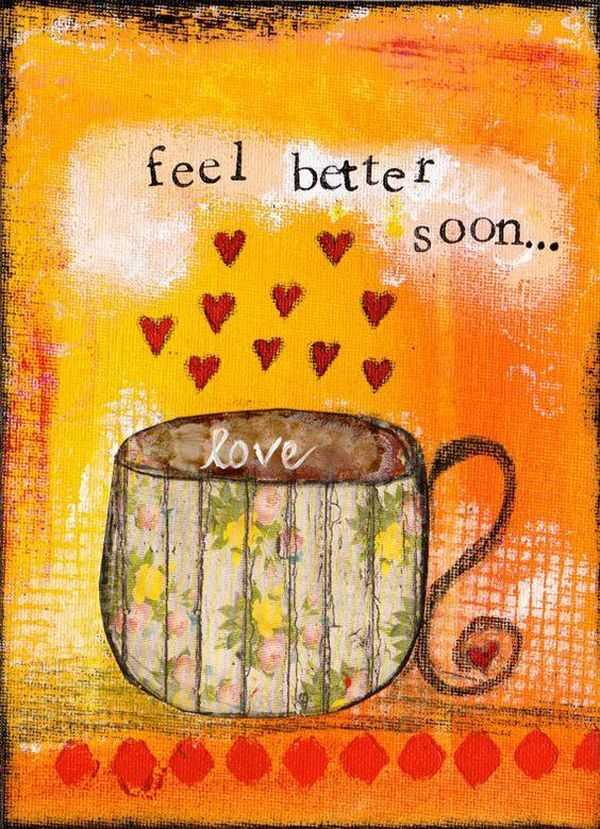 Beautiful Feel Better Soon Wishes to Brighten the Day