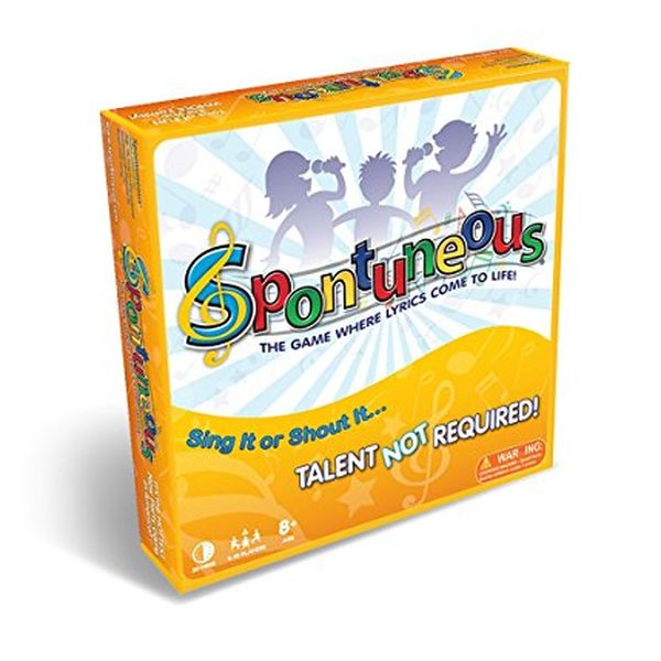 Fun gift for girls age 11: Spontuneous song game