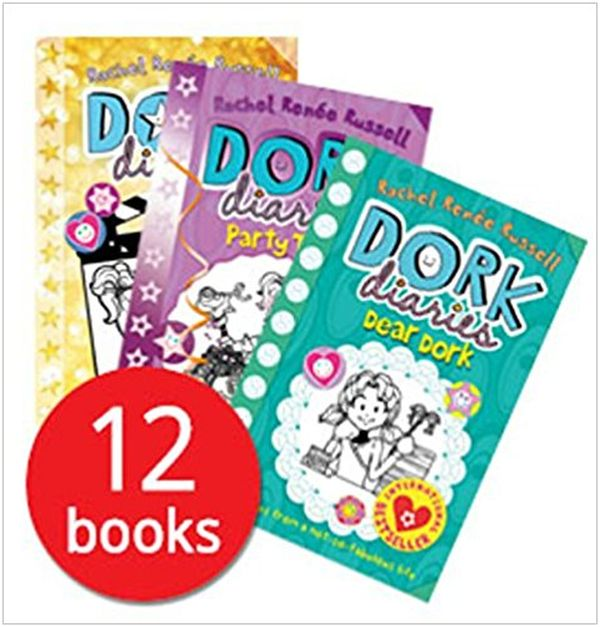 Dork Diaries by Rachel Renee Russell 12 Books Collection Set