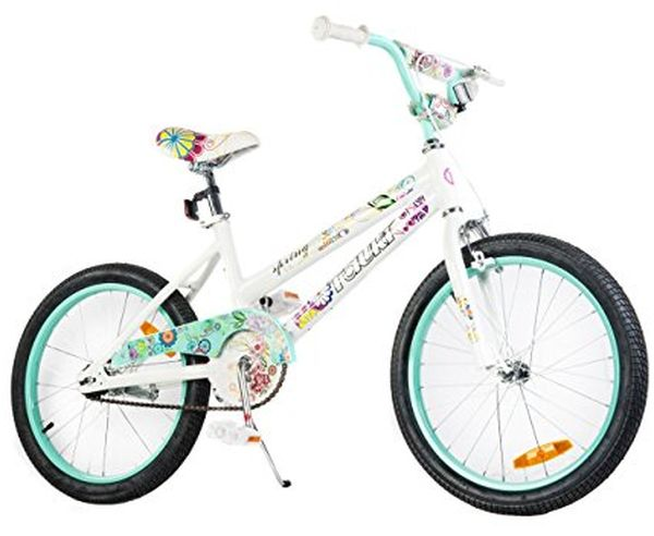Cute girl bike as the best gift for 11-year-olds