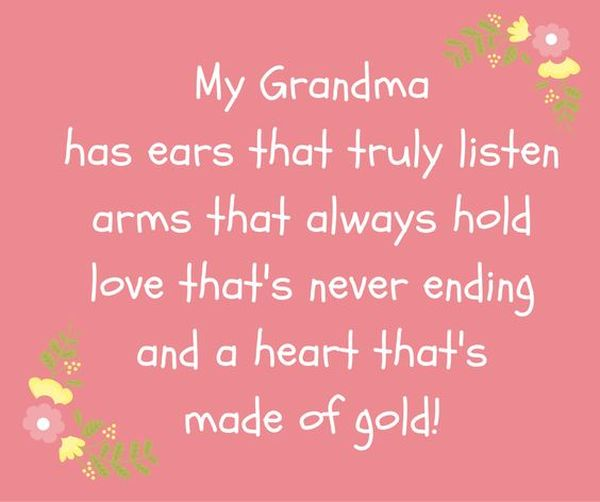 Grandma Quotes, Grandmother Sayings with Love