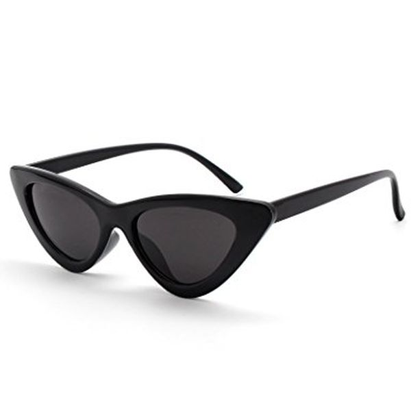 Livh Retro Vintage Narrow Cat Eye Sunglasses