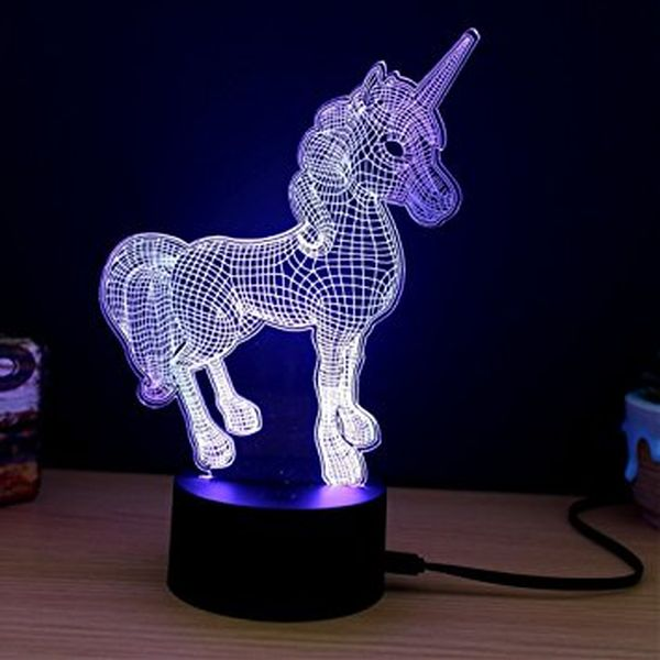 NiceMax Unicorn 3D Lights