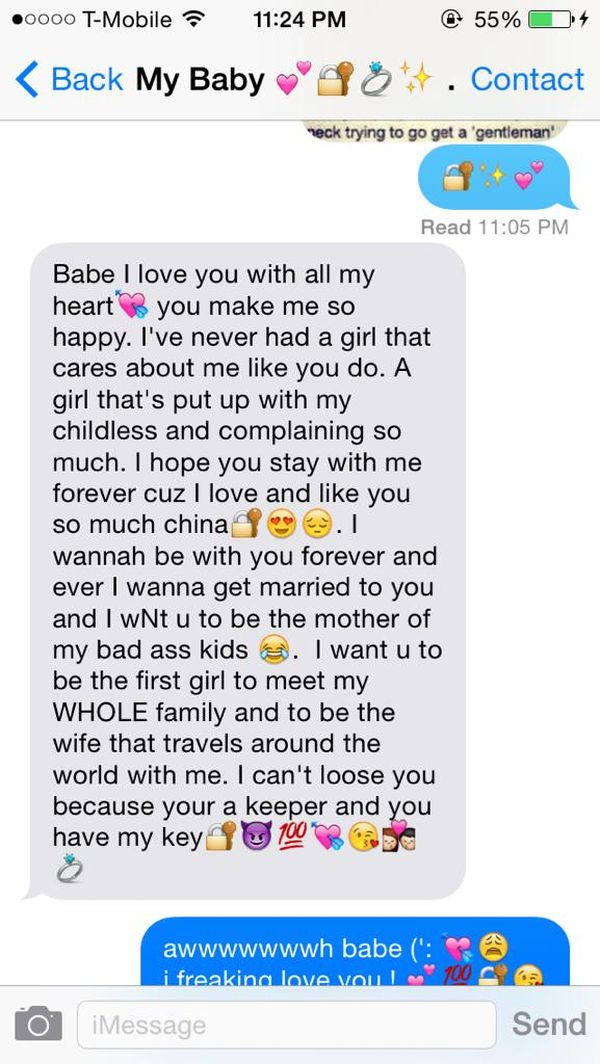 Cute paragraphs to make your boyfriend smile