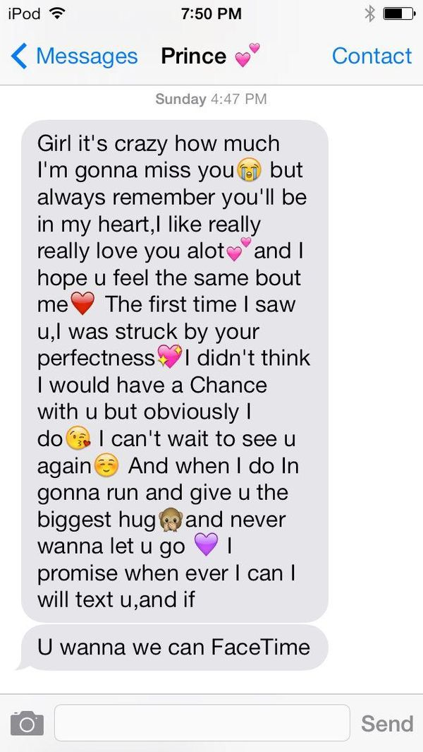 Cute paragraphs for her with emojis