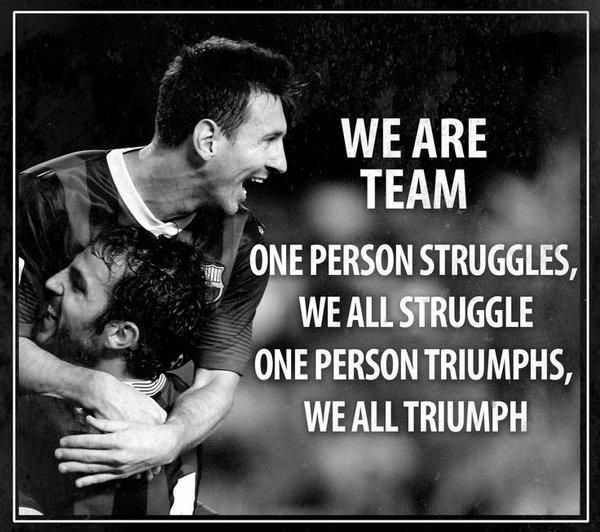 "Uplifting Quotes to Say ""We Are a Team"""