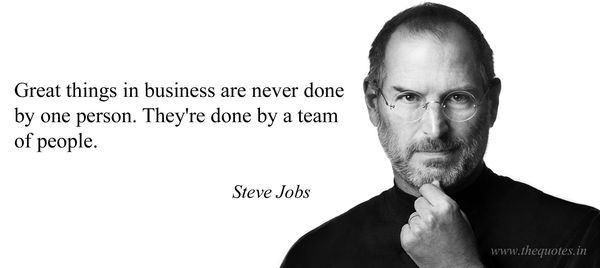 Great Teamwork Quotes from Famous People