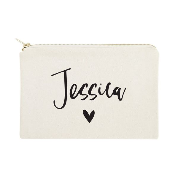 The Cotton Canvas Co. Personalized Cosmetic Bag