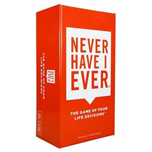 Never Have I Ever: Adult Party Card Game