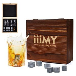 Whiskey Stones and Glasses Gift Set