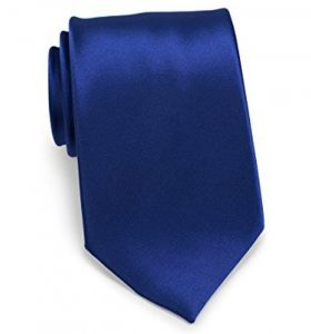 Bows-N-Ties Satin Necktie