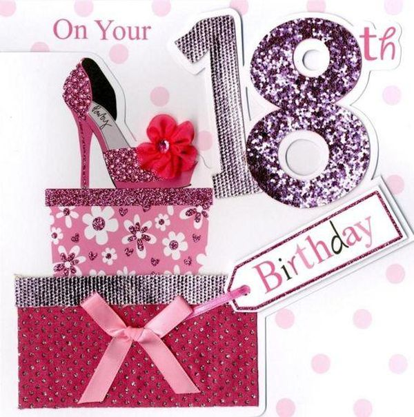 Interesting Happy 18th Birthday Sayings for Granddaughter